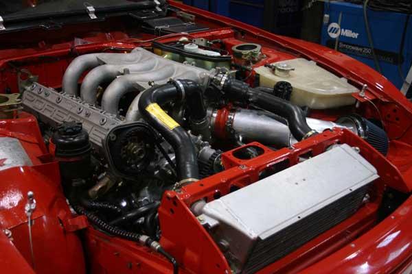 Turbocharged Porsche 944